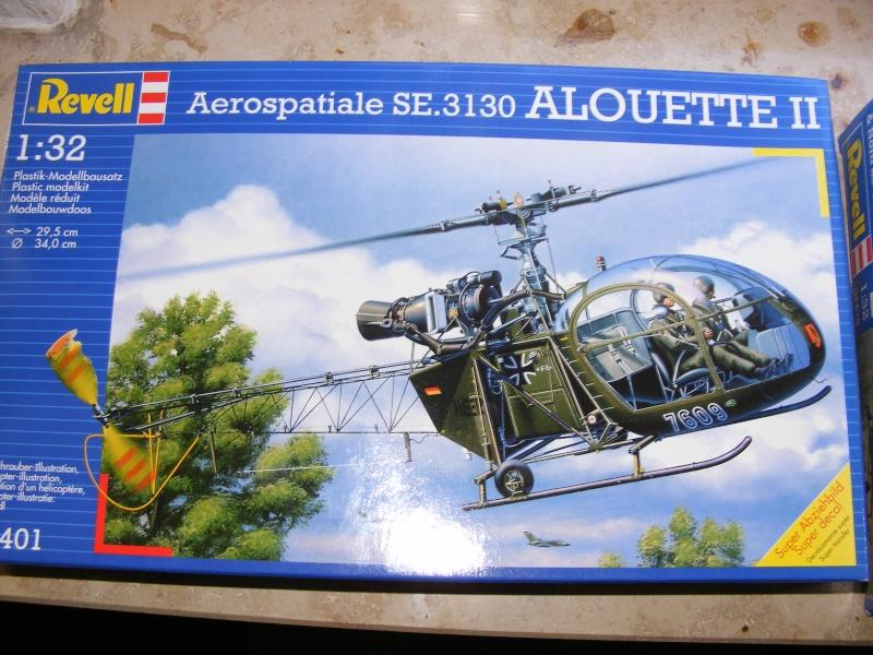 Aerospatiale SE.3130 Alouette II von REVELL in 1:32  Dscf1219
