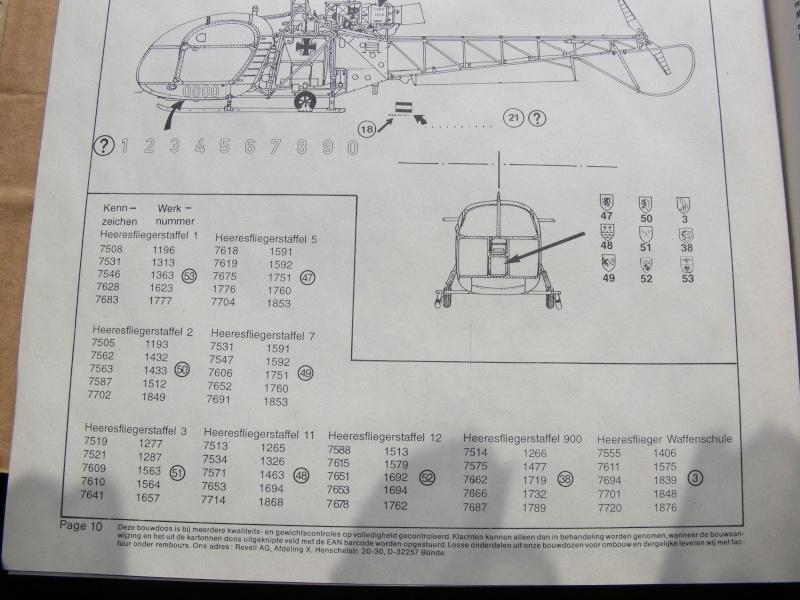 Aerospatiale SE.3130 Alouette II von REVELL in 1:32  Dscf1226