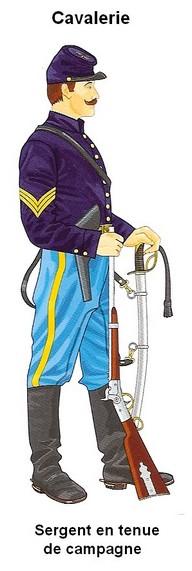 La guerre de sécession: L'armée de l'Union Cavali12