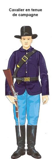 La guerre de sécession: L'armée de l'Union Cavali13