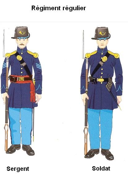 La guerre de sécession: L'armée de l'Union Ragime11