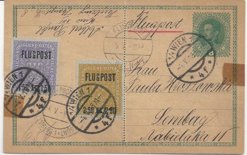 Österreich-Ungarischer Militär-Flugpost Bild114