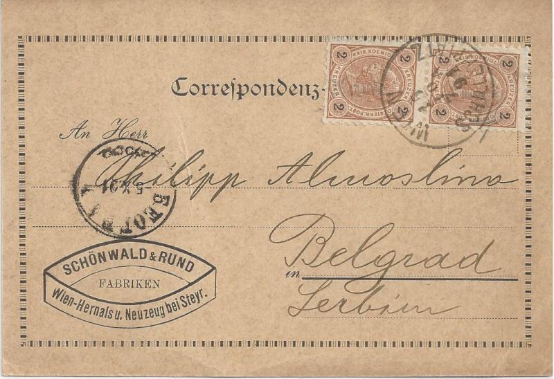 Die Freimarkenausgabe 1890 Bild143