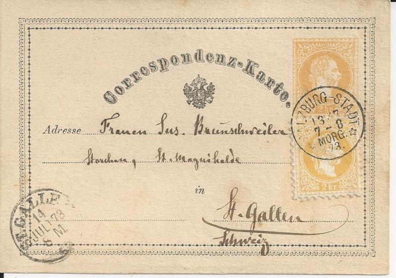 Freimarken-Ausgabe 1867 : Kopfbildnis Kaiser Franz Joseph I - Seite 3 Bild22