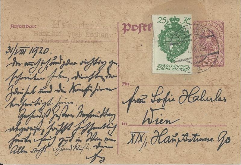 Inflation in Österreich - Belege - 1918 bis 1925 - Seite 2 Bild27