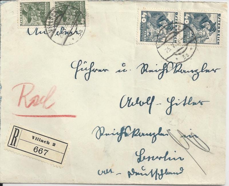 Österreich im III. Reich (Ostmark) Belege Bild41