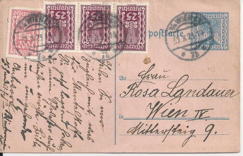 Österreichische Rohrpost der 1. Republik Bild64