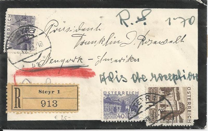 Briefe oder Karten von/an berühmte oder bekannte Personen Bild75