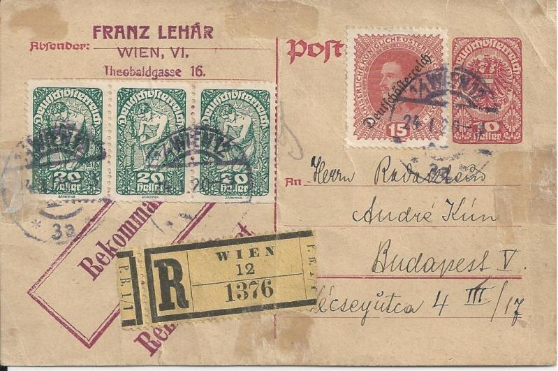 Briefe oder Karten von/an berühmte oder bekannte Personen Bild83