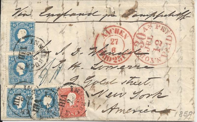 Die Freimarkenausgabe 1858 Type I und II - Seite 2 Bild88
