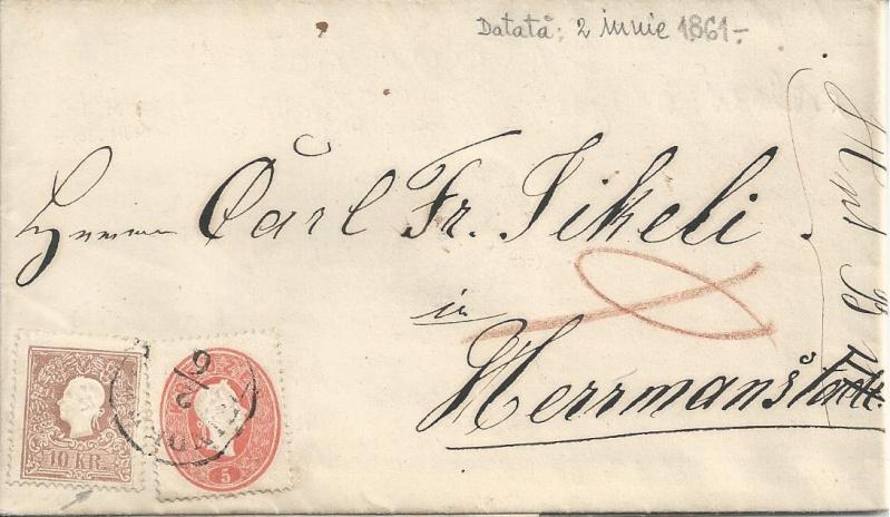 Die Freimarkenausgabe 1861 Bild89