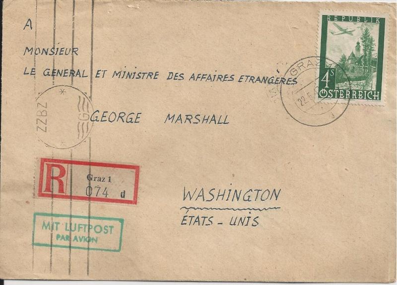 Briefe oder Karten von/an berühmte oder bekannte Personen Bild92