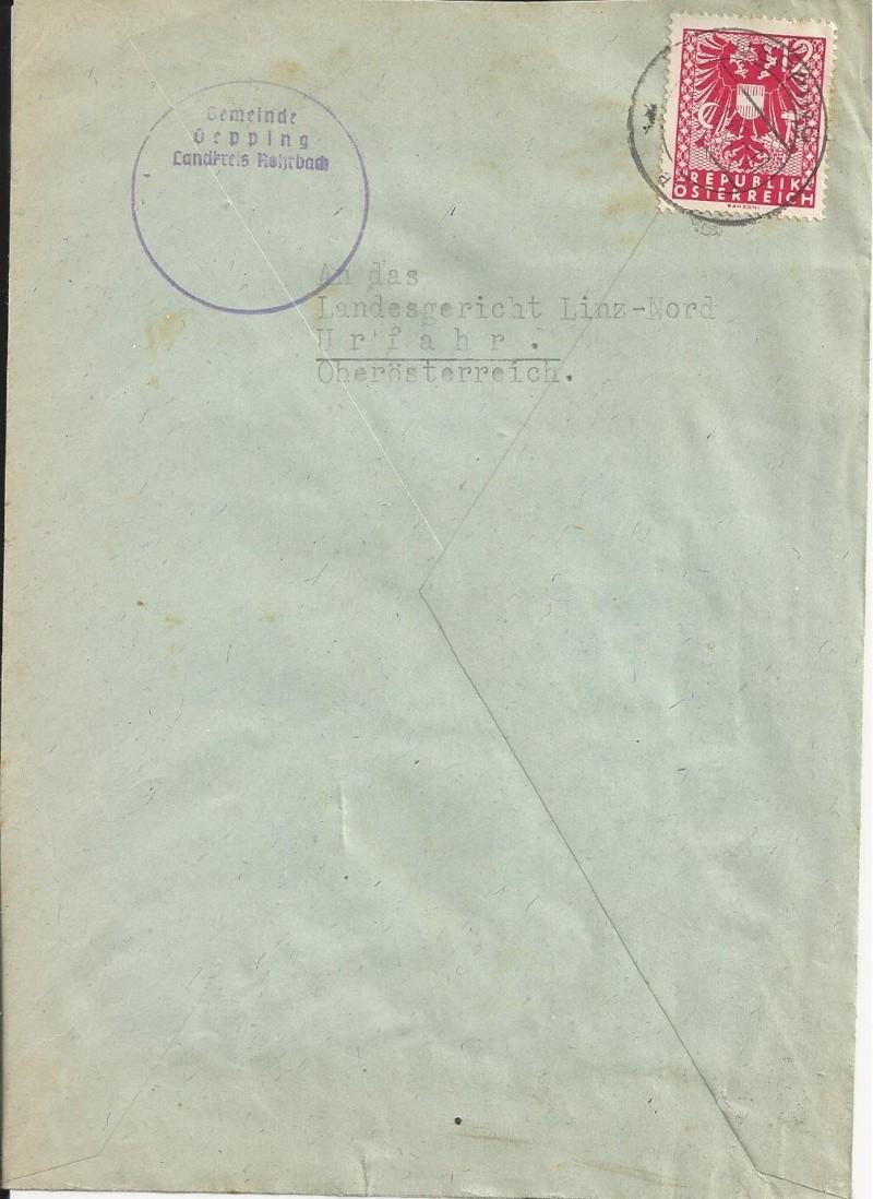 Wappenzeichnung  -  ANK 714-736 - Belege Bild_216