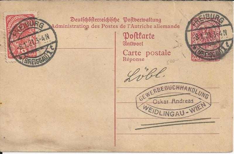 Inflation in Österreich - Belege - 1918 bis 1925 - Seite 2 Bild_217