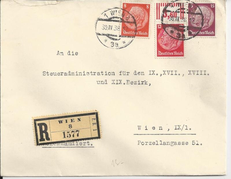 Österreich im III. Reich (Ostmark) Belege Bild_224