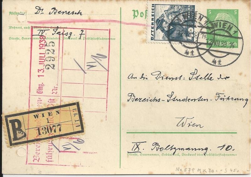 Österreich im III. Reich (Ostmark) Belege Bild_225