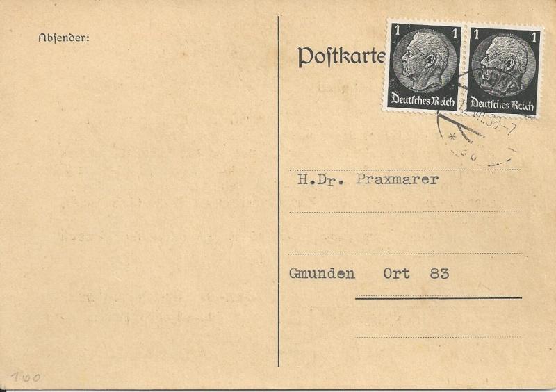 Österreich im III. Reich (Ostmark) Belege Bild_231