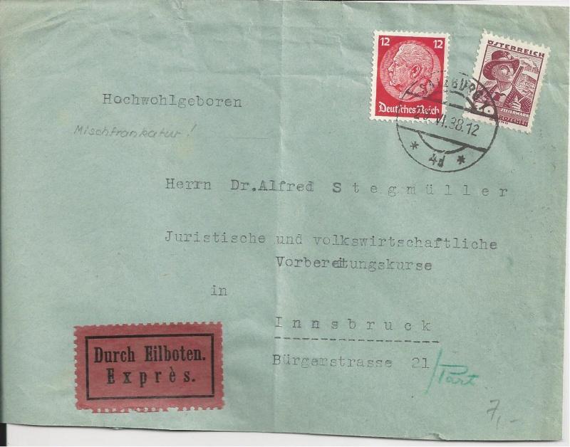 Österreich im III. Reich (Ostmark) Belege Bild_314
