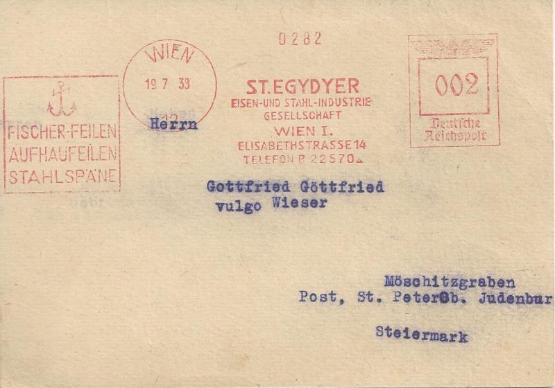 Österreich im III. Reich (Ostmark) Belege Bild_317