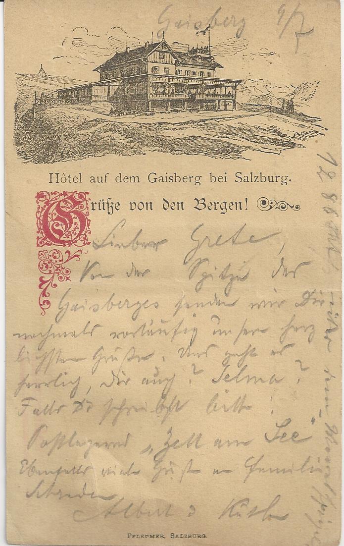 Österreich  -  Alte Ansichtskarten Bild_333
