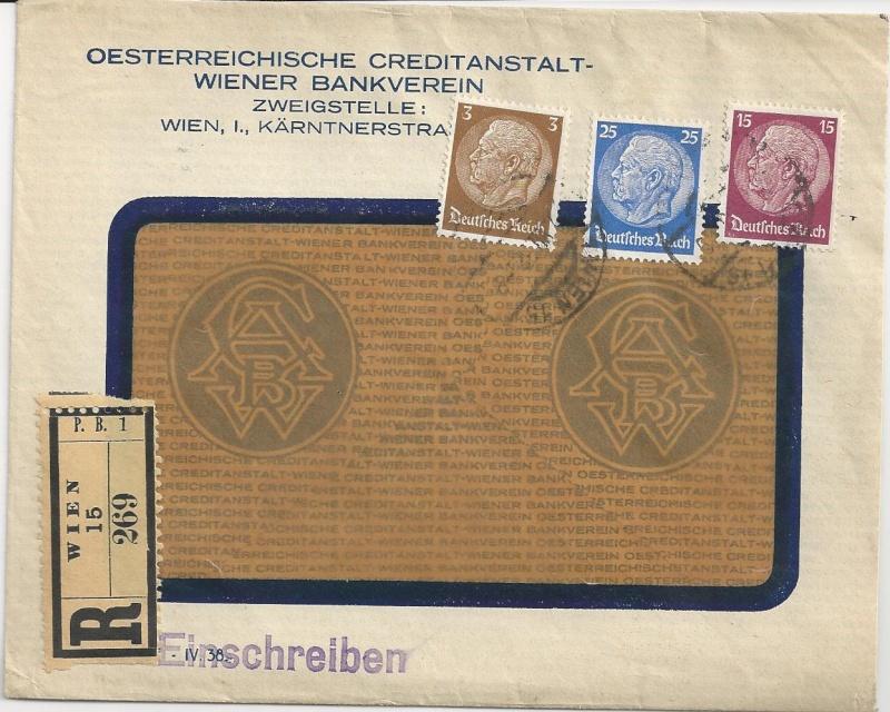 Österreich im III. Reich (Ostmark) Belege Bild_337