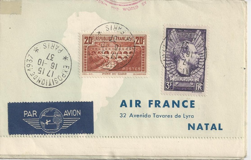 Flugpost Frankreich, wer weiß etwas dazu? Bild_342