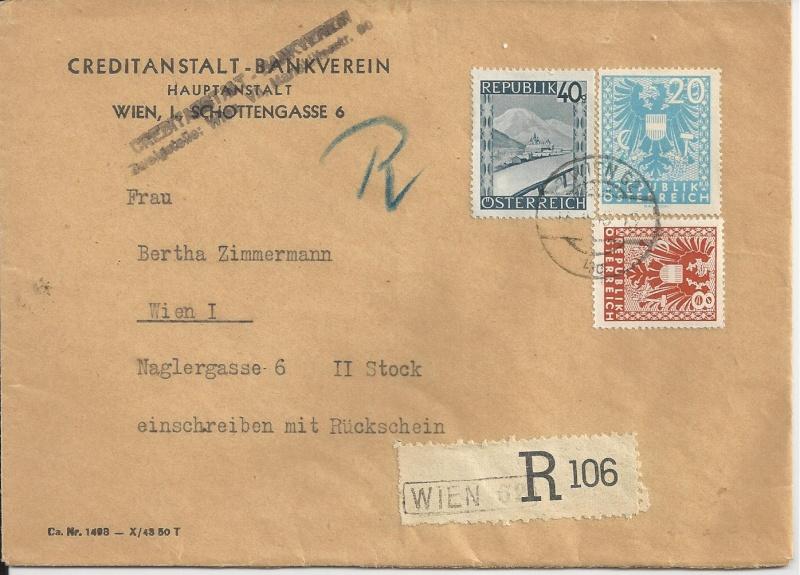 Deutsches Reich - Belege aus Dezember 1945  Bild_410