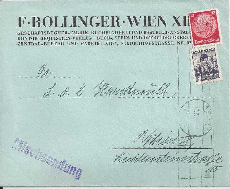 Österreich im III. Reich (Ostmark) Belege Bild_511