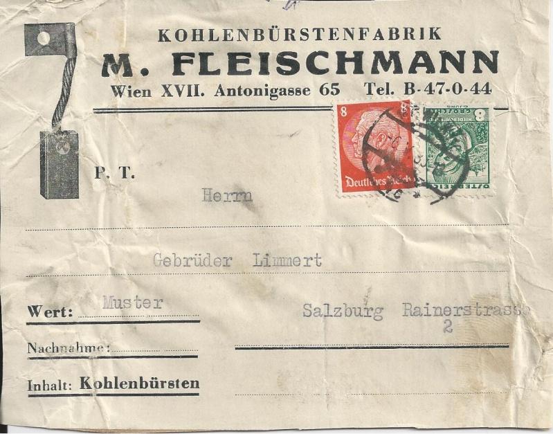 Österreich im III. Reich (Ostmark) Belege Bild_611