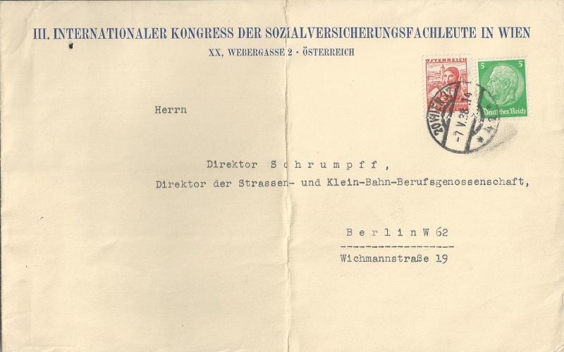 Österreich im III. Reich (Ostmark) Belege Bild_710