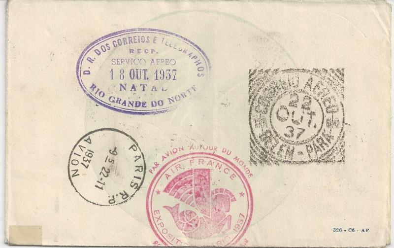 Flugpost Frankreich, wer weiß etwas dazu? Bild_717