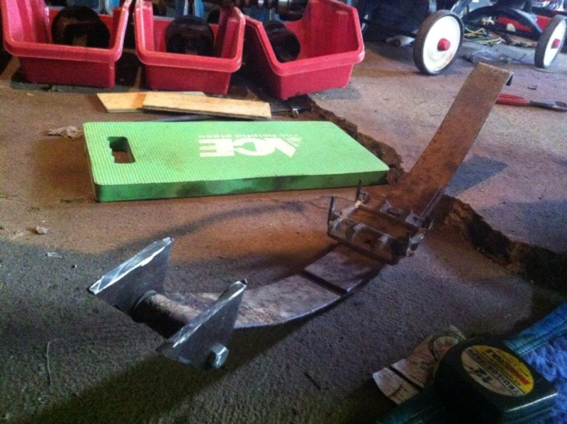 Leaf springs on front mower axle conversion: How to! 11490310