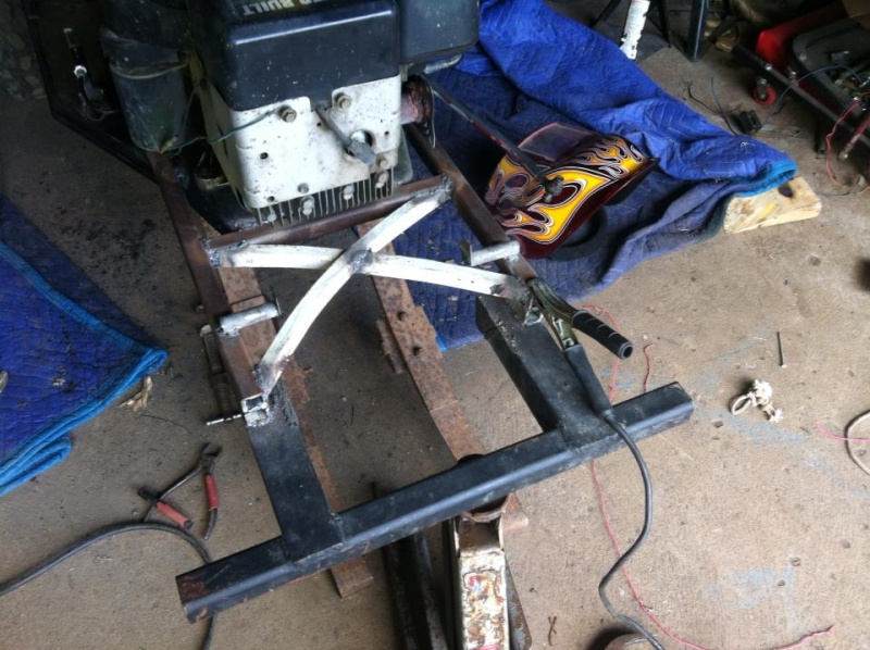 Leaf springs on front mower axle conversion: How to! 11855310