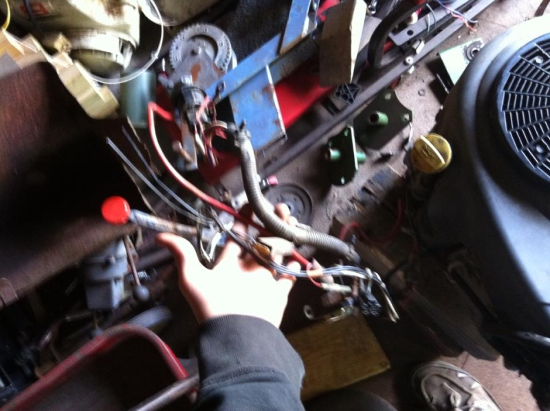 Briggs 21.5 v-twin intek re-wiring 13917810