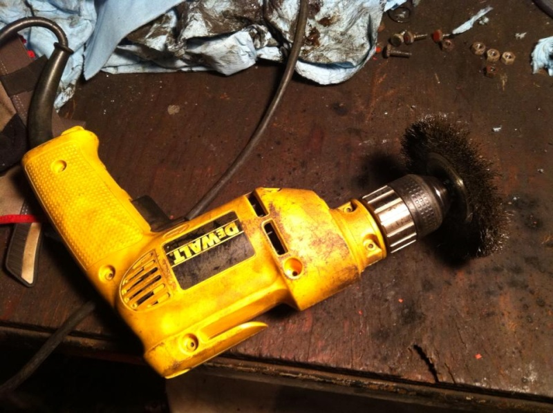 How to: remove surface rusted transaxle/gearbox gears 15460110
