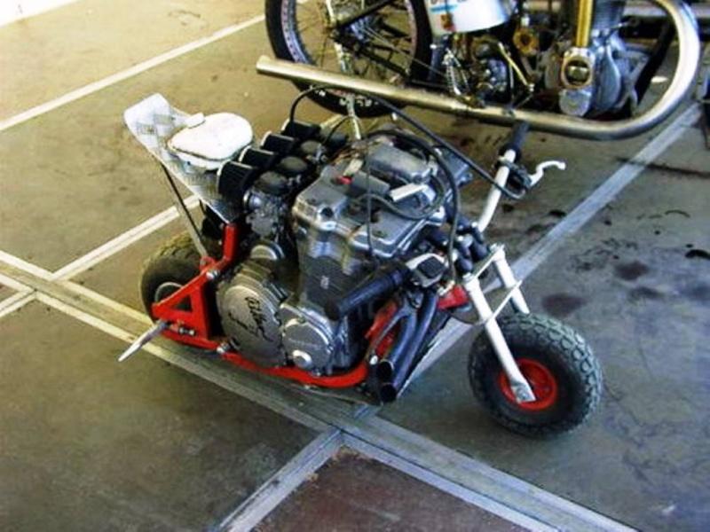 Pocket drag bike build! Pocket10