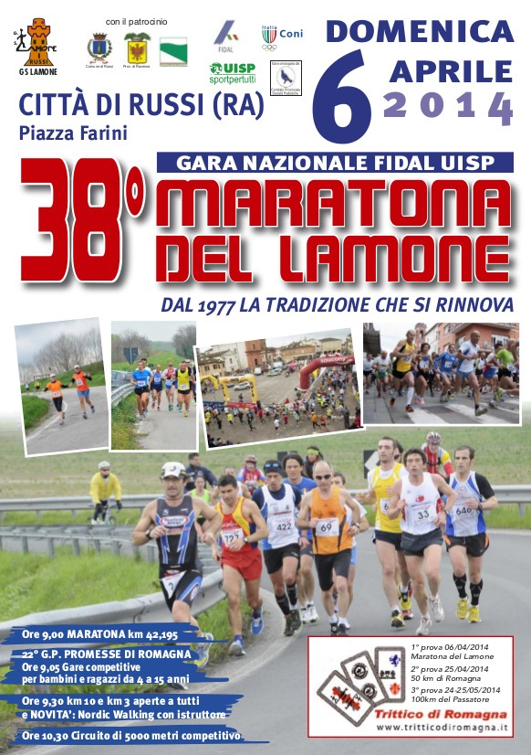 38 Maratona del lamone - 6/4/2014 Russi(RA) Russi210