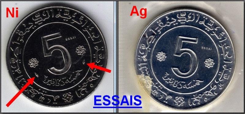 Les pièces de monnaie de l'Algérie indépendante - Page 3 Essais10