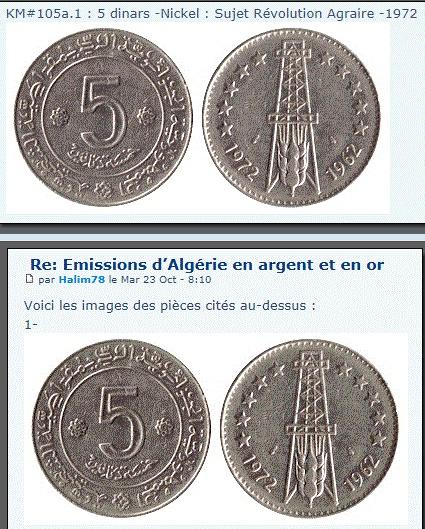 Les pièces de monnaie de l'Algérie indépendante - Page 3 Km105a10