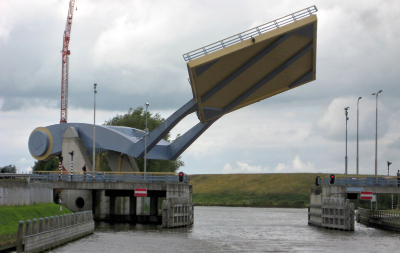 Le pont Slauerhoff - Leeuwarden- Pays-Bas 26584910
