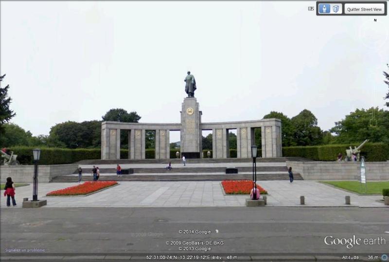 Mémorial soviétique à Berlin, RDA - Allemagne Ee10
