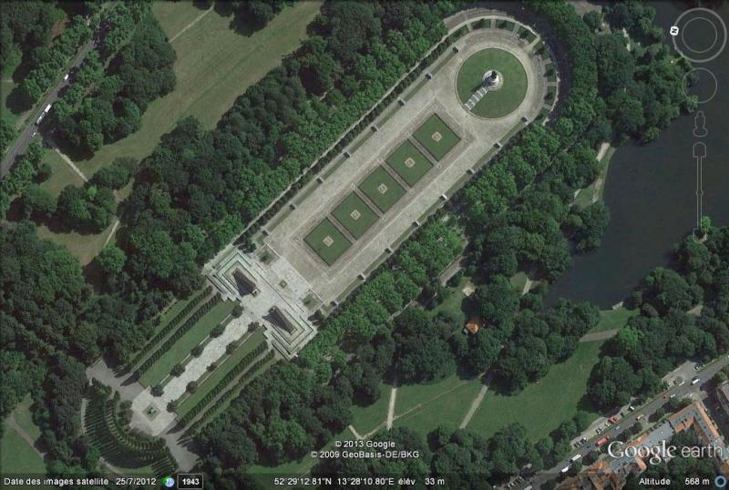 Mémorial soviétique à Berlin, RDA - Allemagne Ff11