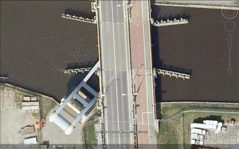 Le pont Slauerhoff - Leeuwarden- Pays-Bas Ge_pon11