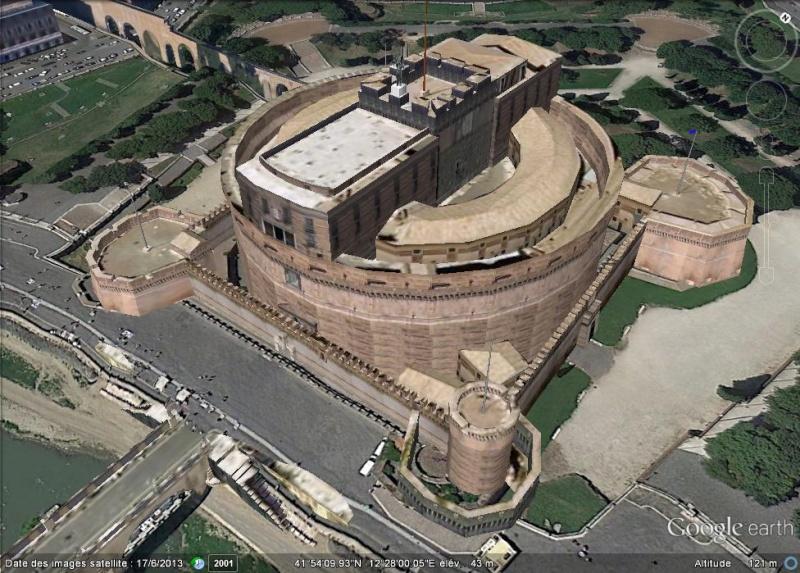 le Castel Sant'Angelo à Rome (Italie) Ggg10