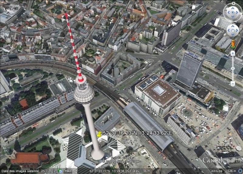 La Fernsehturm, Berlin, Allemagne Gggggg13