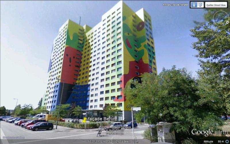 Façades d'immeubles à Berlin Hfj10