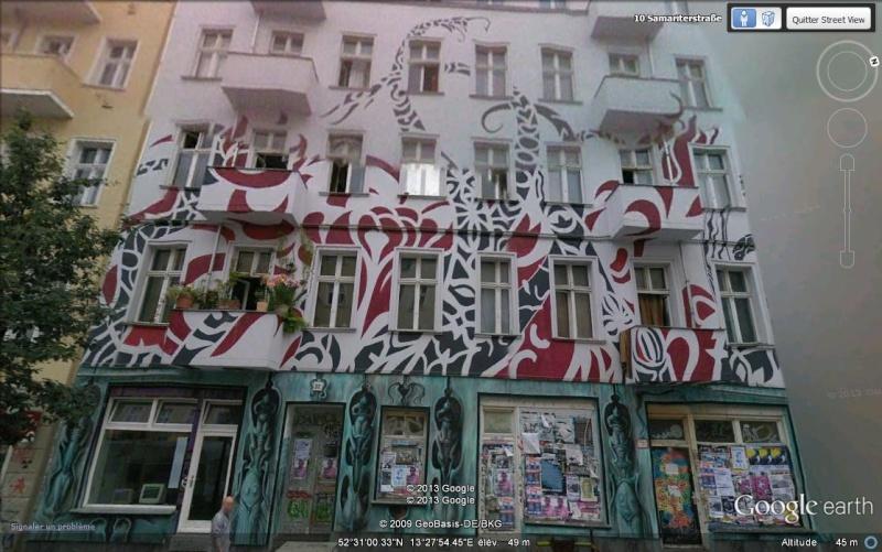 Façades d'immeubles à Berlin Hjkl10