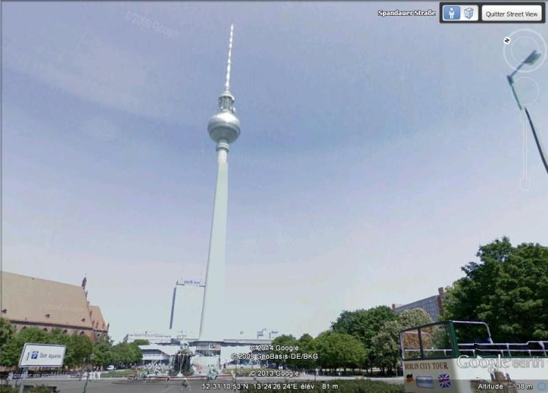 La Fernsehturm, Berlin, Allemagne Jjjjjj10