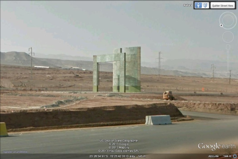 [Chili] Monument du Tropique du Capricorne - Antofagasta K10