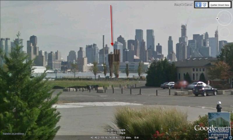 Mémorial du 11 septembre 2001 - Weehawken - New Jersey - USA Kmkh10